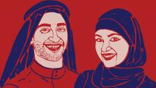 Head, arab, arabic.